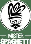 Mister Spaghetti – A Restaurant For Badass Spaghettoholics. Logo